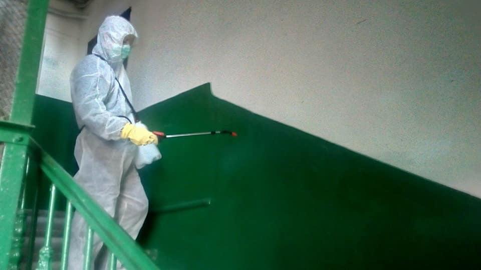 санитарная обработка подъездов с дезинфекцикй от вирусов